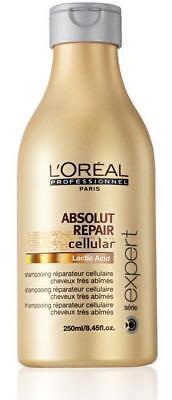 L'Oreal ABSOLUT REPAIR Cellular Shampoo +Damaged Hair
