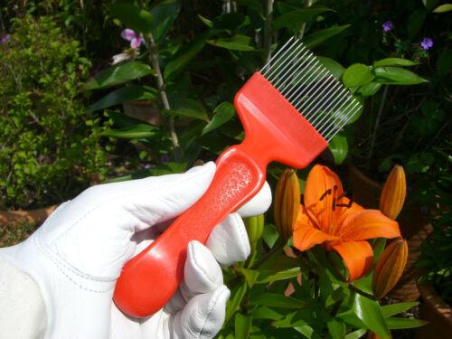 Imkerei Entdecklungs-Gabel Stahl Rot Bienestock Werkzeug