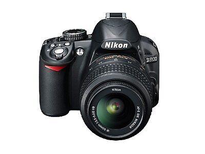 Nikon D3100 14.2 MP Digital SLR Camera - Black (Kit w/ 18-55mm Lens)