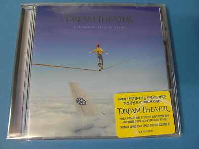 DREAM THEATER - A DRAMATIC TURN OF EVENTS CD $2.99 S&H