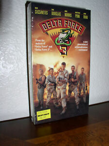 Delta-Force-3-starring-Nick-Cassavetes-VHS-1991-NEW