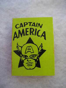 RARE-1966-Marvel-Mini-Books-CAPTAIN-AMERICA-MMMS-NM