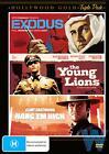 Exodus / Young Lions / Hang 'em High (DVD, 2012, 3-Disc Set)