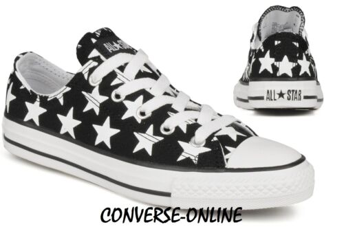 2 Bas Étoiles Chaussures Uk Noir Filles Blanc Garçons Taille Converse Baskets Stars All Enfants vxWBwOqRSn