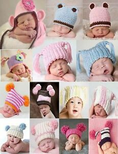 Cute-Gorgeous-Newborn-Baby-Knit-Hat-Beanie-Cap-New