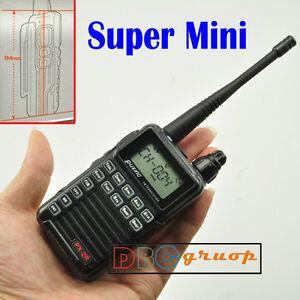 MINI-two-Way-Radio-Walkie-Talkies-Portable-CB-ham-FM-hand-UHF-frequency-PX2R