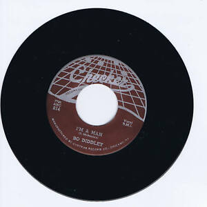 BO-DIDDLEY-I-039-M-A-MAN-BO-DIDDLEY-2-GREAT-BO-BOPS-CLASSIC-1st-45-RELEASE