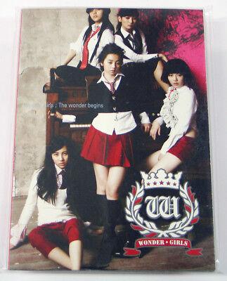 WONDER GIRLS - The Wonder Begins (1st Single CD+Photo)