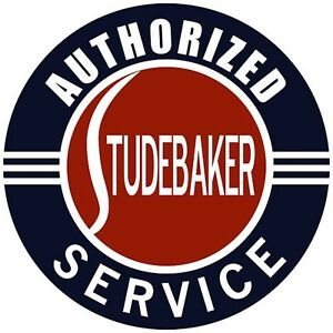 Studebaker Authorized Service Decal The Best Ebay