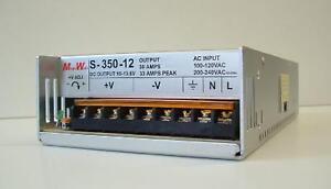 12-Volt-33-Amp-On-Board-RV-or-Car-Battery-Charger-Regulated-Adjustable-to-15V