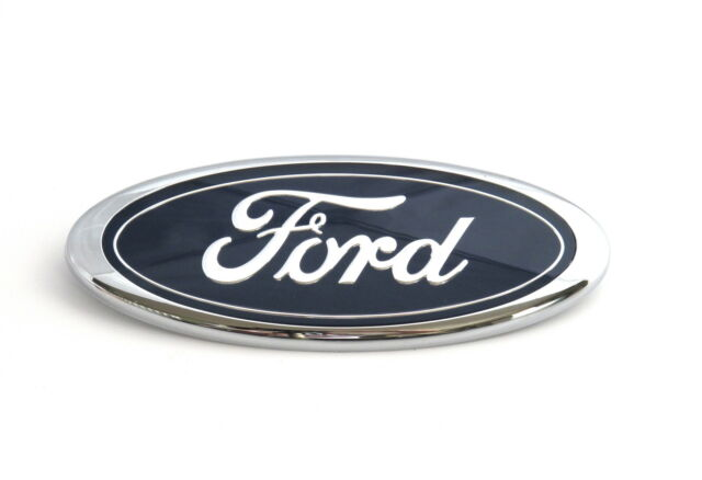 Genuine New FORD TAILGATE BADGE Emblem For Fiesta Mk6 VI 2008+ Titanium Zetec LX