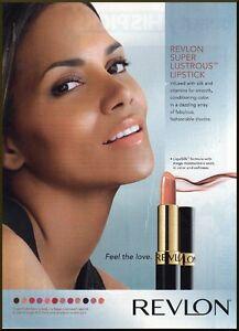 Halle Berry Revlon Super Lustrous Lipstick modern ad from ...