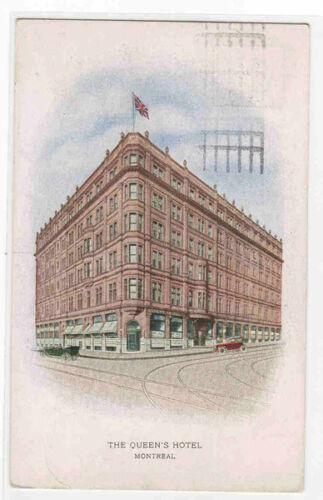 The Queen's Hotel Montreal Quebec Canada 1924 postcard