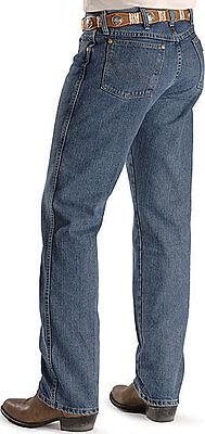 WRANGLER Men COWBOY CUT Jeans 31 X 32 - PREMIUM Dark Stonewash-Slim Cut-36MWZDS