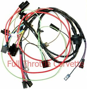 1979 dodge wiring harness diagram 1977 early corvette air conditioning ac wiring harness | ebay