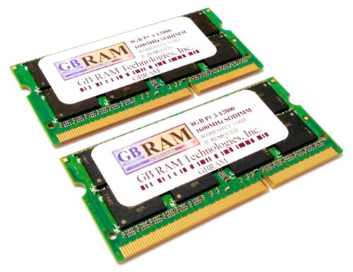 "16GB Memory RAM (2 x 8GB) for MacBook Pro ""Core i7"" 2.9 13"" Mid-2012 MD102LL/A"