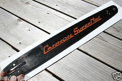 Cannon SUPERMINI 20 inch chainsaw bar Small Saw fr PS Chain 3/8 Pitch .050 Gauge