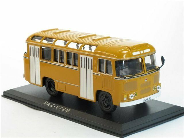 PAZ-672M Soviet(Russian) Bus 1 43 RARE    SUPER SALE