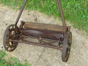GREAT-STATES-rotary-REEL-push-lawn-MOWER-vintage-antiqu