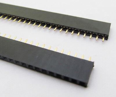 1x 40Pin Female IC Single Row Flat Header Socket 2.54mm