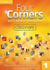 Four Corners Level 1 Classware Level 1: Student's Book 1 by Jack C. Richards, David Bohlke (DVD-ROM, 2011)