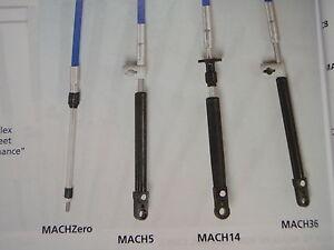 JOHNSON EVINRUDE CONTROL CABLE UFLEX MACH14 SHIFT THROTTLE CABLE 10FT MC14X10