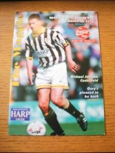 27091994 Notts County v Bristol City Football League Cup  No obvious faults - <span itemprop=availableAtOrFrom>Birmingham, United Kingdom</span> - Returns accepted within 30 days after the item is delivered, if goods not as described. Buyer assumes responibilty for return proof of postage and costs. Most purchases from business s - Birmingham, United Kingdom