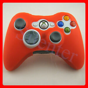 Red-Silicone-Case-For-XBOX-360-Slim-Wireless-Controller
