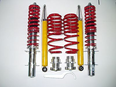 RED LINE VW GOLF 4 1,4 1,6 1,8 1,8T BORA AMORTISSEUR REGLABLE FILETÉ RESSORT