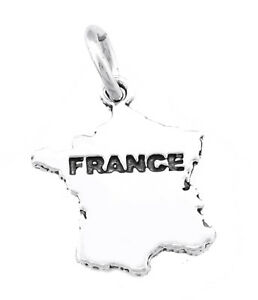 STERLING-SILVER-MAP-OF-FRANCE-CHARM