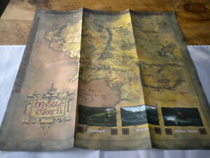 Lord-of-the-Rings-Figures-special-edition-Map-of-Middle-Earth