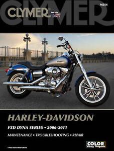 2006-2011-Harley-Davidson-Dyna-FXD-FXDB-FXDC-FXDF-FXDL-FXDSE-FXDWG-CLYMER-MANUAL