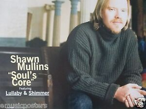 SHAWN-MULLINS-034-SOUL-039-S-CORE-2-034-U-S-PROMO-POSTER-Country-Rock-Alternative-Music
