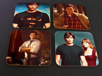 Smallville Superman Clark Kent COASTER Set