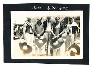 1910's JACK DEMPSEY Candid Photograph, BOXING CHAMP!