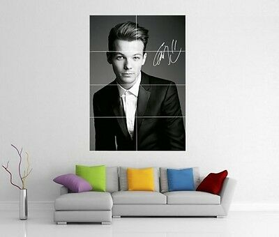 LOUIS TOMLINSON ONE DIRECTION 1D TAKE ME HOME UP ALL NIGHT GIANT ART POSTER H224