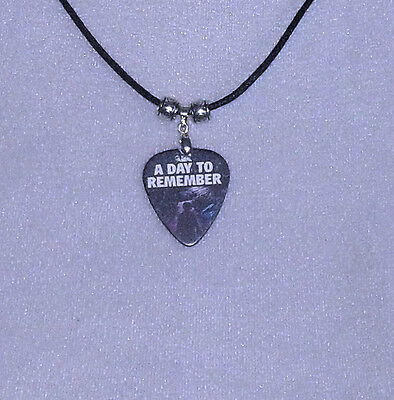 A DAY TO REMEMBER NECKLACE PLECTRUM PICK IN PACKAGING IDEAL GIFT PRESENT
