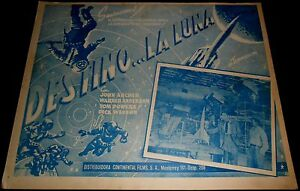 1950-Destination-Moon-ORIGINAL-MEXICAN-LOBBY-CARD-Robert-A-Heinlein-B