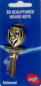 AFL-Club-3-Dimension-House-Key-Blank-Richmond