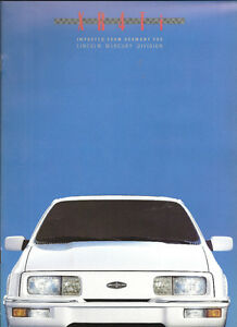 1988-MERKUR-XR4TI-SCCA-TRANS-AM-CAR-SHOWROOM-BROCHURE-034-NOS-034