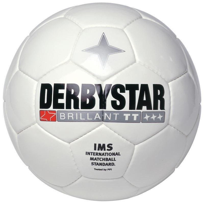 10 Derbystar Fußbälle  Brillant TT  weiß  Gr. 5  (  )    NEU
