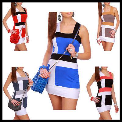 Gorgeous Mini Dress Sleeveless Bodycon Holiday Tunic Fit for sizes 8 - 12 5405
