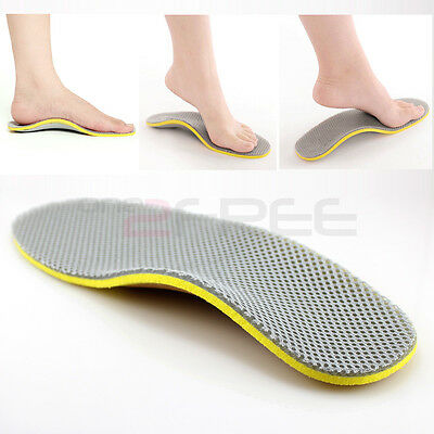 New 1Pair Orthotic Arch Support Shoe Insoles Pads Pain Relief All Size Free Ship