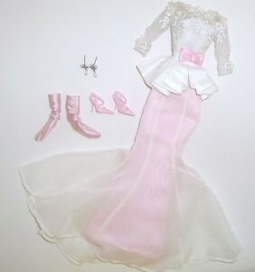 EVENING-GOWN-Silkstone-Barbie-Collector-Doll-Fashion-CLOTHES-SET-COMPLETE-OUTFIT