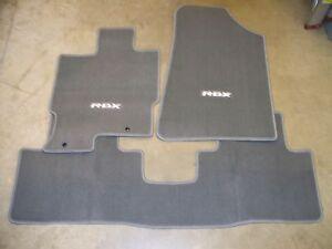 Genuine Oem 2007 2008 Acura Rdx Gray Carpet Floor Mats Set