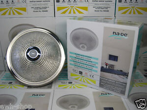 sensor deckenleuchte deckenlampe lampe mit bewegungsmelder sensorleuchte neu ovp ebay. Black Bedroom Furniture Sets. Home Design Ideas