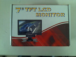 7-034-Color-LCD-TFT-Car-Rearview-Headrest-Monitor-DVD-VCR