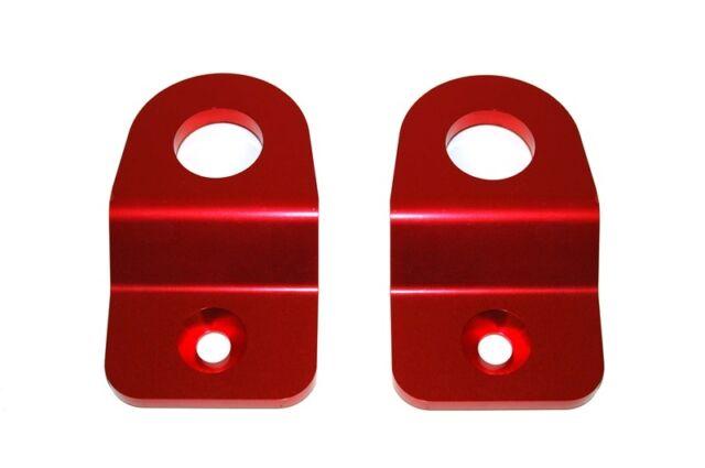 TORQUE SOLUTION SUBARU RADIATOR STAY BRACKET (RED) SUBARU WRX STI 08-13