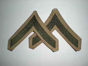 USMC-PRIVATE-RANK-GREEN-KHAKI-1-PAIR