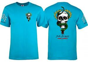 Powell-Peralta-MIKE-MCGILL-OS-Brigade-Skateboard-T-shirt-Age-ecole-TQ